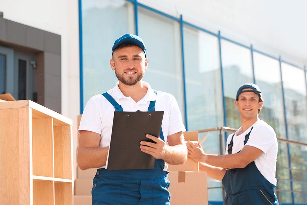 Livraison et montage de mobilier de bureau